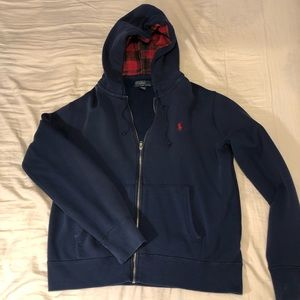 Polo by Ralph Lauren Hooded Sweater Navy Blue